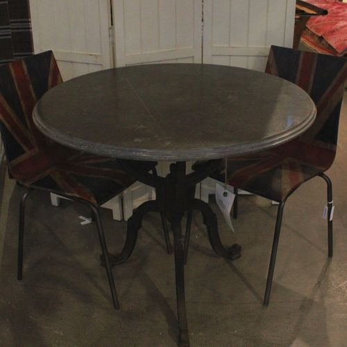 Migani ROUND CAST METAL TABLE