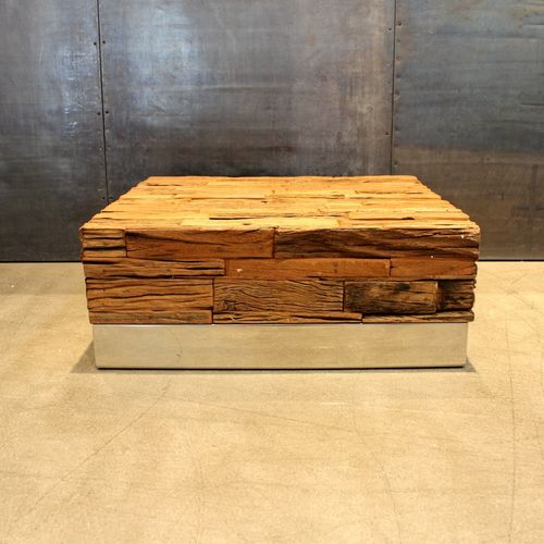 MIGANI AVANTGARDE COFFEE TABLE FROZEN 80 x 80 cm
