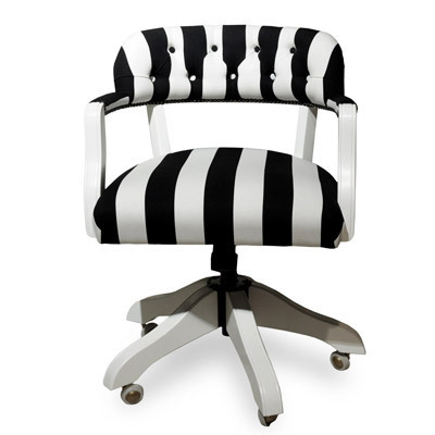 Hazenkamp Dublin Office Chair Stripes Big 58x65x80cm  fabrics