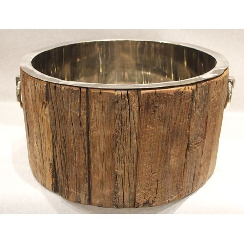 Migani ITALY cooler ROUGH WOOD TUB