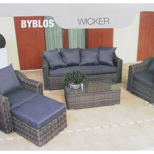 Migani ITALY Byblos outdoor set with cushions