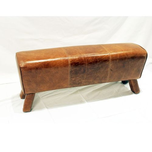Migani ITALY LEATHER LONG BENCH