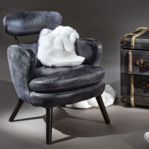 Migani ITALY LEATHER ARMCHAIR Roma