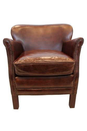 Migani ITALY LIBRA 1 SEATER LEATHER CHAIR