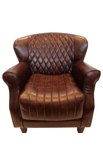 Migani ITALY PYXIS 1 SEATER LEATHER CHAIR