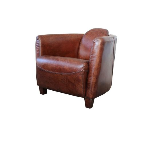 Migani ITALY CAELUM 1 SEATER LEATHER CHAIR