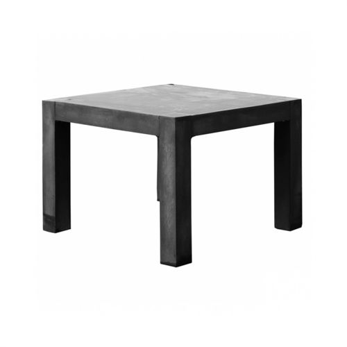 Pottery Pots Table S, Fiberstone Black 100x100x77