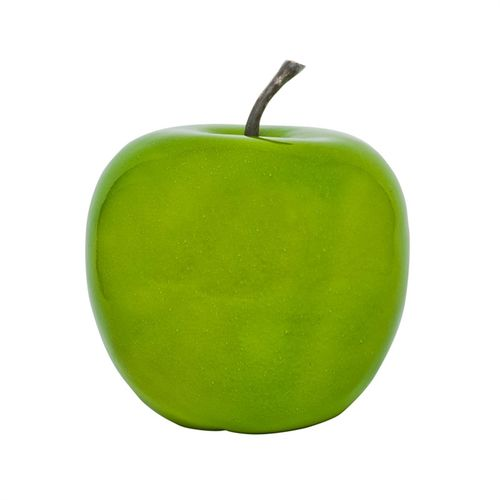 Pottery Pots Apple M, Glazed Green 33x33x35 3,2kg