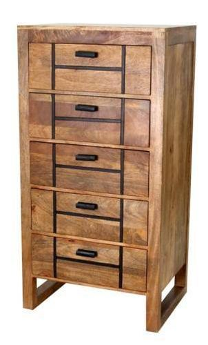 Jaipur Amravati 5 Drawer Tall Chest 118 60 45 cm