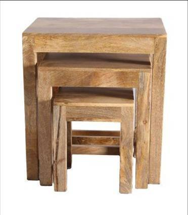 Jaipur Chambal Nest Of 3 Tables 50 45 34 cm