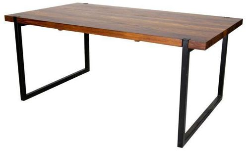 Jaipur Godavri Dining Table Metal  Base 76 175 100 cm