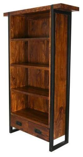 Jaipur Godavri Book Case Metal  Base 175 105 35 cm
