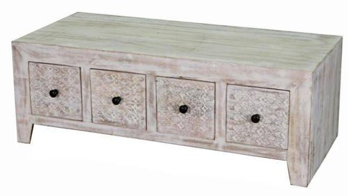 Jaipur Mandakini 8 Drawer Coffee Table  42 118 54 cm