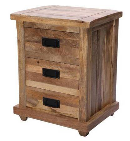 Jaipur Sarayu 3 Drawer Bed Side  Table 71 55 44 cm