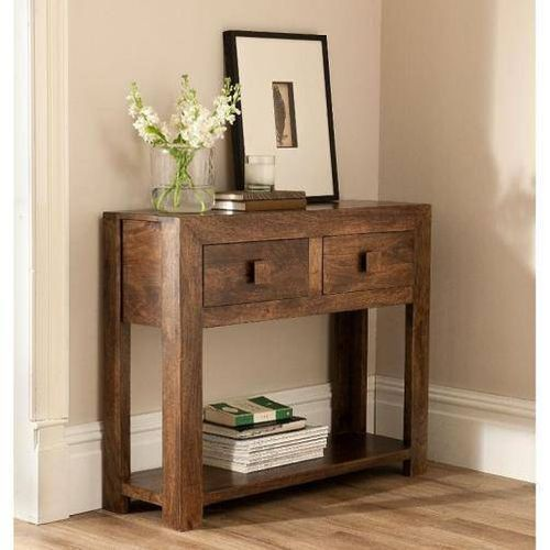 Jaipur Surya 2 Drawer Console  Table  76 90 30 cm