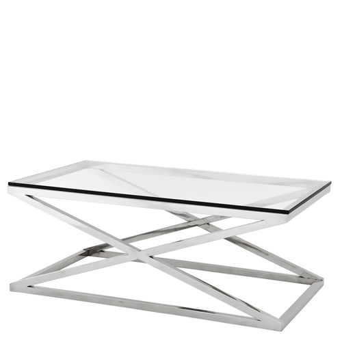 EICHHOLTZ Coffee Table Harvey Coffee Table Criss Cross
