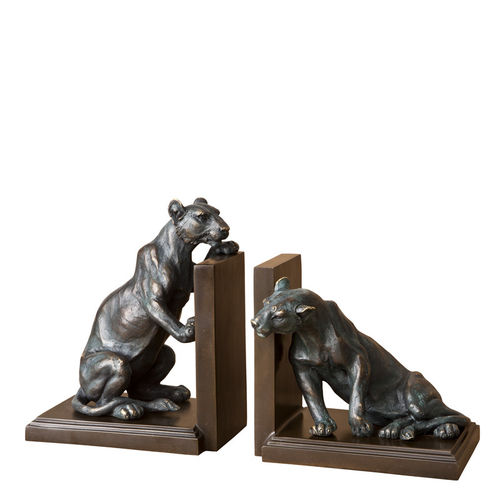 EICHHOLTZ Bookend Lioness set of 2