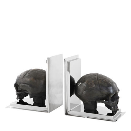 EICHHOLTZ Bookend Skull set of 2