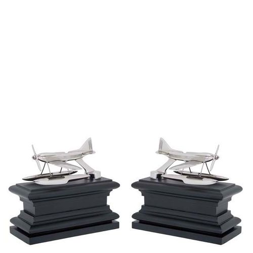 EICHHOLTZ Bookend Hydroplane set of 2