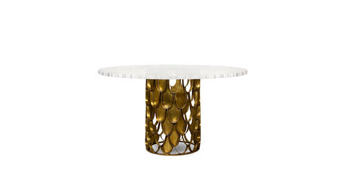 BRABBU DINING TABLE KOI one