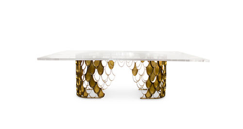 BRABBU KOI DINING TABLE two