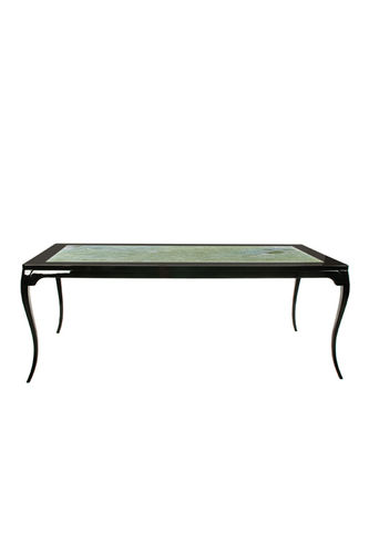 "Green Apple Dining Table ""Veneza"" M black/stone"