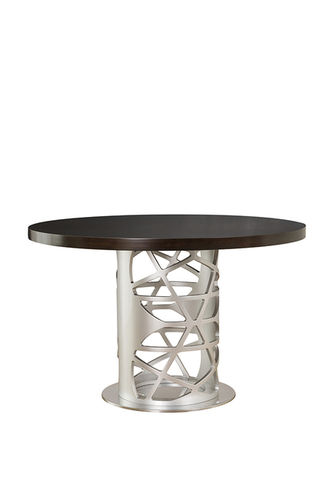 "Green Apple Round Dining Table ""Pyrite"""