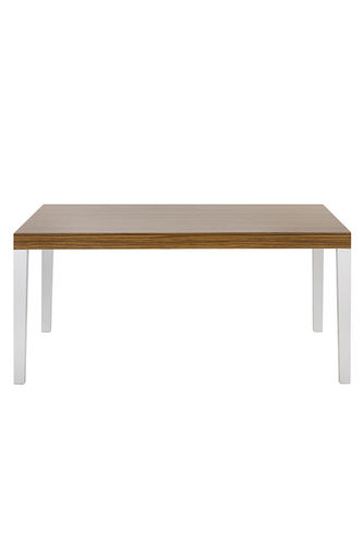 "Green Apple Dining Table ""Alasca"" dark brown"