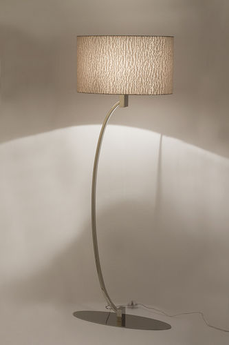 "Green Apple Floor Lamp w/Shade ""Laurent"""