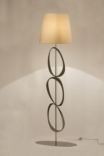 "Green Apple Floor Lamp w/Shade ""Vicent"""
