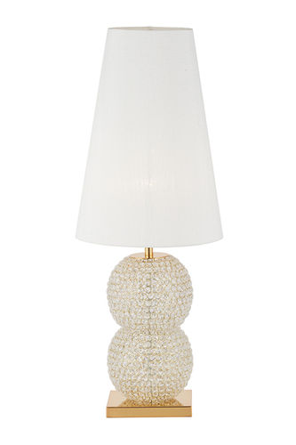 "Green Apple Table Lamp w/Shade ""Rodrigues"""