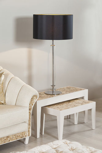 "Green Apple Table Lamp w/Shade ""Vaz"" M"