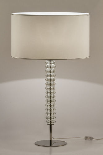 "Green Apple Table Lamp w/Shade ""Saldanha"" L white"