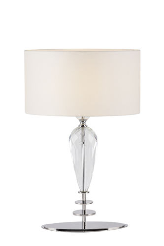 "Green Apple Table Lamp w/Shade ""Leroy"""