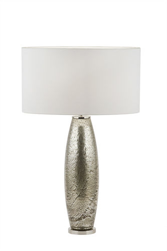 "Green Apple Table Lamp w/Shade ""Genaro"" silver"
