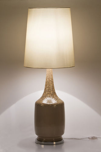 "Green Apple Table Lamp w/Shade ""Adarga"""