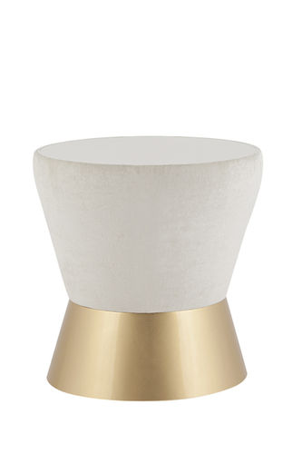"Green Apple Side Table ""Athos"" pearl"