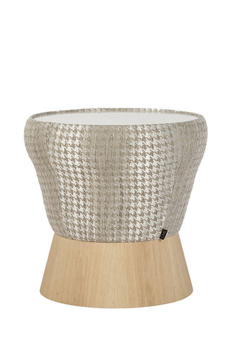 "Green Apple Side Table ""Athos"" natural"