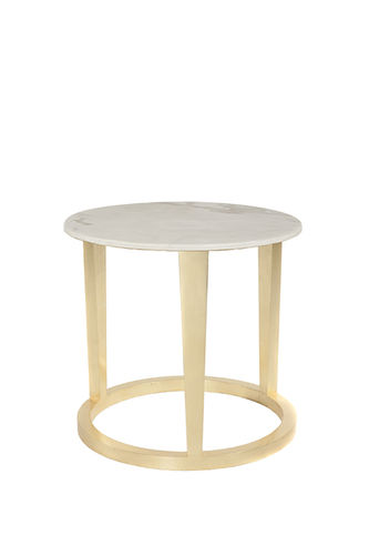 "Green Apple Side Table ""Rubi"" M creme"