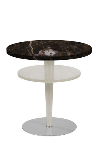 "Green Apple Side Table ""Casino"" dark marble"