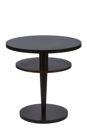 "Green Apple Side Table ""Casino"" dark brown"