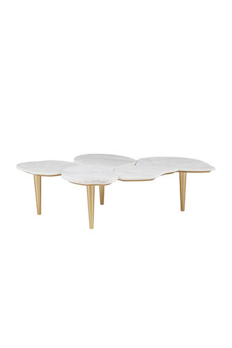"Green Apple Coffee Table ""Infinity"" white"