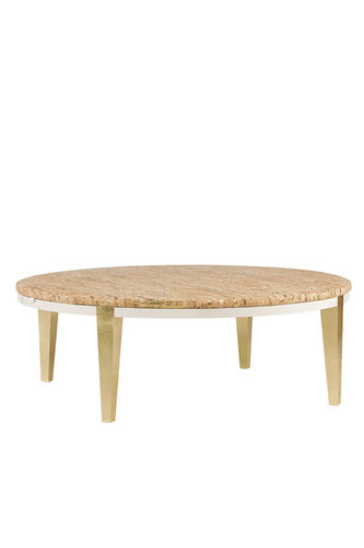 "Green Apple Coffee Table ""Nês"" cork"