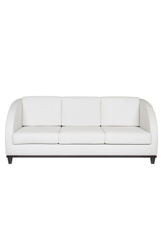 "Green Apple 3 Seat Sofa ""Miami"" white"