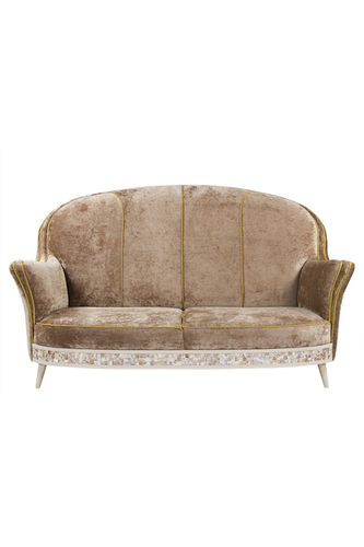 "Green Apple 2 Seat Sofa ""Jorgen"" light brown"