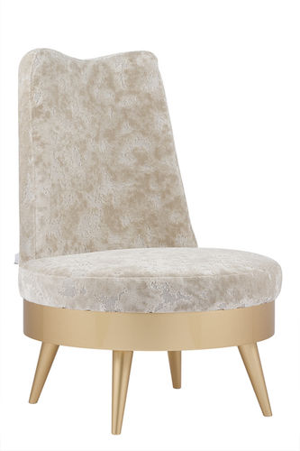 "Green Apple Armchair ""Angola"" creme  gold"
