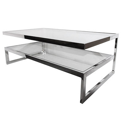 Hazenkamp Salon Table Clear Glass 140x7 0x45cm
