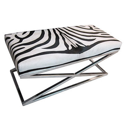 Hazenkamp Bench Zebra, Big 110x50x50 cm