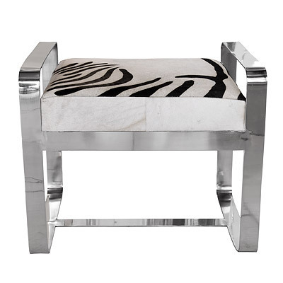 Hazenkamp Stool Zebra