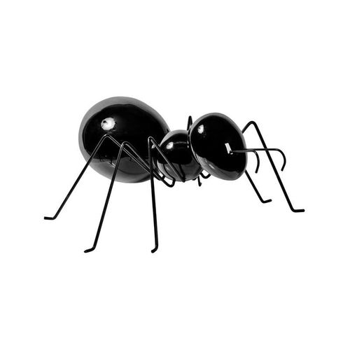 Pottery Pots * Ant Laying M * Glossy Black *